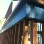Rear Deck Railing After