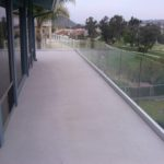 Handrail & Custom Glass Wall Construction Vista